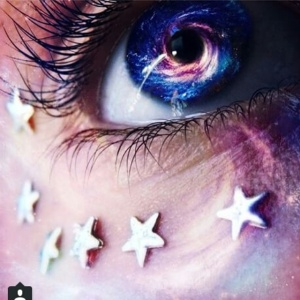 Edited galaxy eye
